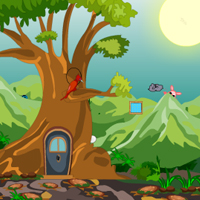 Free online flash games - Easter Village Escape game - Games2Rule