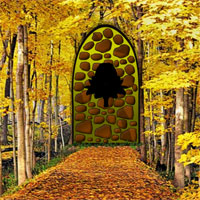 Free online flash games - Easy Yellowish Forest Escape game - WowEscape