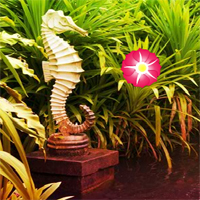 Free online flash games - Emancipate Worm in Garden