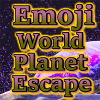 Free online flash games - Emoji World Planet Escape game - WowEscape