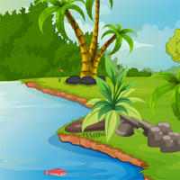 Free online flash games - Escape Baby Hippo game - WowEscape