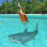 Free online flash games - Escape from Shark game - Games2Rule