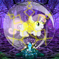 Escape Pony from Bubble Forest