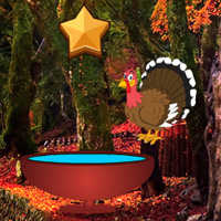 Free online flash games - Escape with Thanksgiving Maple Leaf game - WowEscape