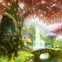 Free online flash games - Fairy Land Escape game - Games2Rule