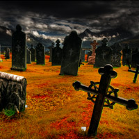 Free online flash games - Fall Graveyard Escape game - Games2Rule