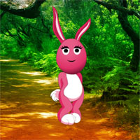 Free online flash games - Fantasy Bunny Easter Escape game - WowEscape