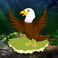 Free online html5 games - Fantasy Forest Eagle Escape game - Games2rule