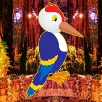 Free online flash games - Fantasy Forest Woodpecker Escape game - WowEscape