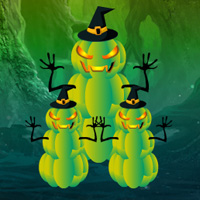 Free online flash games - Fantasy Halloween Escape game - WowEscape
