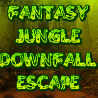 Free online flash games - Fantasy Jungle Downfall Escape game - WowEscape