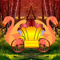 Free online html5 games - Fantasy Swan Cart Escape game - Games2rule