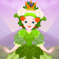Free online flash games - Fantasy Vegetable Queen Escape game - WowEscape