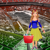 Free online flash games - Find My Bag in Abandoned Stadium game - WowEscape