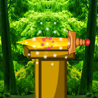 Free online flash games - Find The Golden Sword game - WowEscape