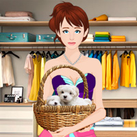 Free online flash games - Find the Puppies in Boutique Showroom game - WowEscape