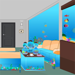 Free online flash games - Fish Tank Room Escape game - WowEscape