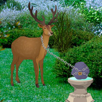 Free online flash games - Forest Garden Deer Escape game - Games2Rule