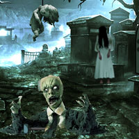 Free online flash games - Funerary Ground Escape game - Games2Rule