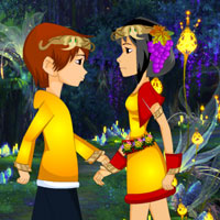 Free online flash games - Girl Friend Fantasy Escape game - Games2Rule