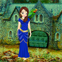 Free online flash games - Girl Rescue From Forest Castle game - WowEscape