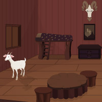 Free online flash games - Goat House Escape game - WowEscape