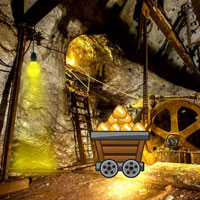 Free online flash games - Gold Mine Trapped Escape game - WowEscape