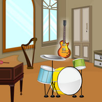 Free online flash games - Great Musical Room Escape game - WowEscape