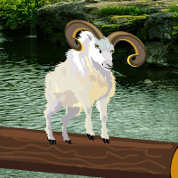 Free online html5 games - Great Valley Goat Rescue game - Games2rule