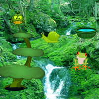 Free online html5 games - Green Pulp Forest Escape game