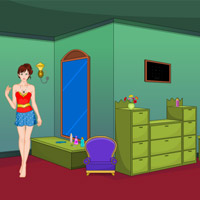 Free online flash games - Halloween Fancy Dress Escape game - WowEscape