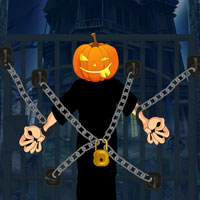 Free online flash games - Halloween Jack O Lantern Rescue game - WowEscape