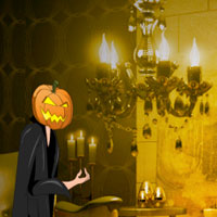 Free online flash games - Halloween Light Show House Escape game - WowEscape