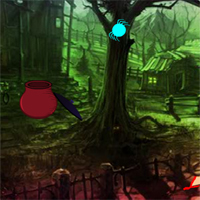 Free online flash games - Halloween Petty Witch Escape game - WowEscape