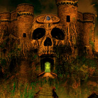 Free online flash games - Halloween Runic Skull Point Escape game - WowEscape