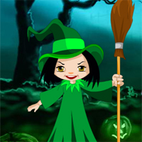 Free online flash games - Halloween Witch Candy Bowl Escape game - WowEscape
