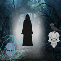 Free online flash games - Haunted Forest Escape game - WowEscape
