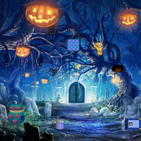 Free online flash games - Haunted Halloween 2015 game - WowEscape