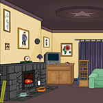 Free online flash games - Hearth Room Escape game - WowEscape