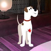 Free online flash games - Help the Bleeding Dog game - WowEscape
