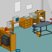 Free online flash games - Home Office Escape game - WowEscape