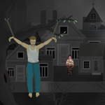 Free online flash games - Horror Town Escape game - WowEscape