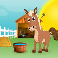 Free online flash games - Horse Escape game - Games2Rule