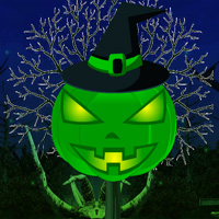 Free online flash games - Jack O Lantern Head Escape game - WowEscape
