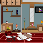 Free online flash games - Jap Living Room Escape game - WowEscape