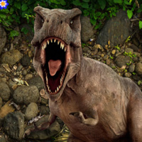 Free online flash games - Jurassic Land Escape game - WowEscape