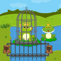 Free online flash games - King Frog Escape game - Games2Rule
