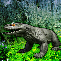 Free online flash games - Komodo Dragon Forest Escape game - WowEscape