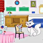 Free online flash games - Lady Kitty Escape  game - WowEscape