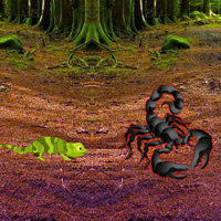 Free online flash games - Land of Scorpion Escape game - WowEscape